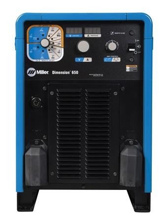 Dimension™ 650 Multiprocess Welder Back - Tomag Enterprises Limited