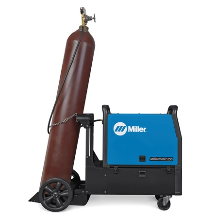 Millermatic® 255 MIG Welder Back - Tomag Enterprises Limited